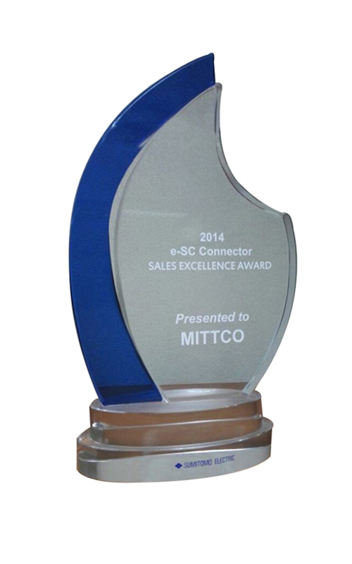 2014 e SC Connector Sales Excellence Award