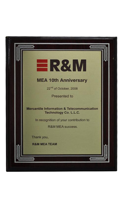 R&M MEA 10th Anniversary